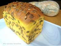 Pumpkin and honey bread