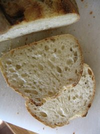 Susan's semolina sourdough bread