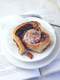 Caramelized Apple Cinnamon Walnut Roll
