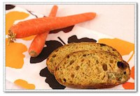 Sourdough Rye With Carrots and Seeds