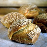 Yoghurt Sesame Rolls