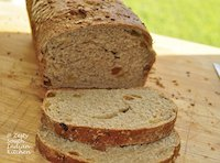 Rye Oat meal Raisin Bread