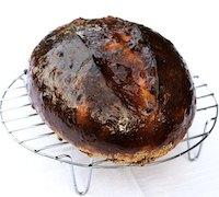 Bara Brith. Welsh Speckled Bread