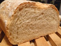 White Bread with Sesame Seeds and Hi-Maize Flour