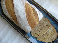 Soft Sandwich Rye Bread