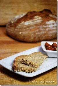 Spelt &amp; Wheat Bread