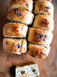 Safflower and Lavender Savory Loaf