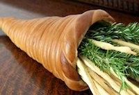 Bread Dough Cornucopia