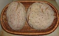 Pine Nuts Rye Bread