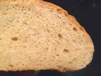Bread with fresh yeast