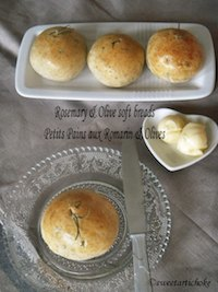 Rosemary & Olive soft bread