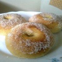 Baked Banana Donuts