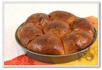 Sourdough Pumpkin Cormeal Buns
