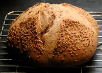 Whole-grain sourdough