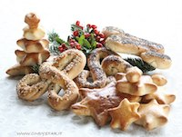 bread festive letters