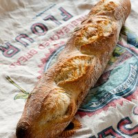 Homemade French Baguette