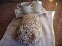 Lepard's oat & apple bread