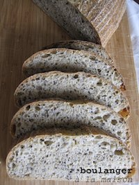 Semolina Multigrain Sourdough