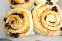 Cinnamon bread (with plain bread dough)
