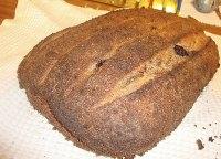 Evening to evening sourdough loaf