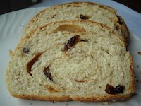 Honey Oatmeal Raisin Bread