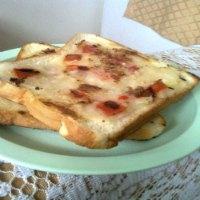 Open Potato Toast