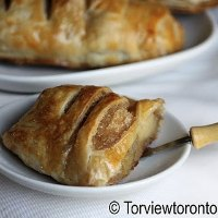 Apple pie puff pastry