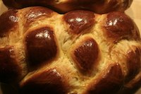 Four Braid Challah