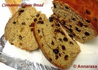 Cinnamon Raisin Bread with Oats