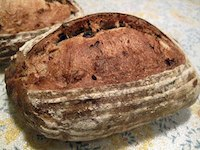 Walnut Raisin Sourdough Bread