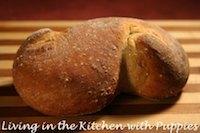 Semolina Bread with Fennel