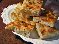Sourdough Focaccia with Chili Jam
