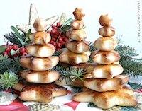 Tiny Bread Christmas Trees