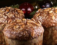 Panettone with Citrus, Chocolate, and Ginger