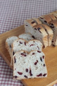 Cranberry Sourdough Soft Bread