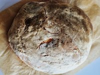 Traditional Italian No-Knead Sourdough Bread