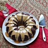 Vegan Sourdough Chocolate Cake