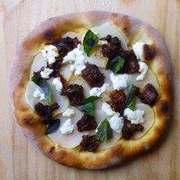 Potato And Caponata Pizza