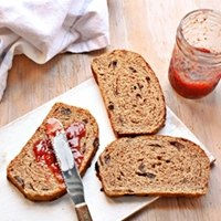 Yeasted Applesauce Whole Wheat Bread