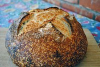 Wheat-Germ And Sage Sourdough