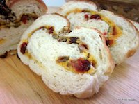 Cranberry Raisin  Walnut Loaf
