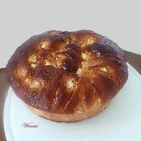 Apple Honey Challah For Rosh-Hashana