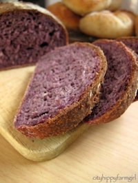 Purple Carrot Bread