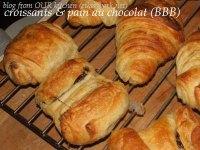 Croissants And Pains Au Chocolat