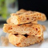 Tomato, Wheat, Sprouted Quinoa Flat Bread. Vegan
