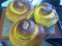 Pumpkin Swirl Bread