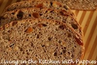 Whole Wheat Bread With Golden Raisins And Walnuts