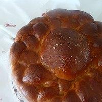 Round-shaped Sweet Challah