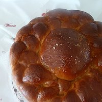 Round-shaped Sweet Challah