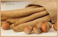 Whole Wheat & Hazelnut Breadsticks